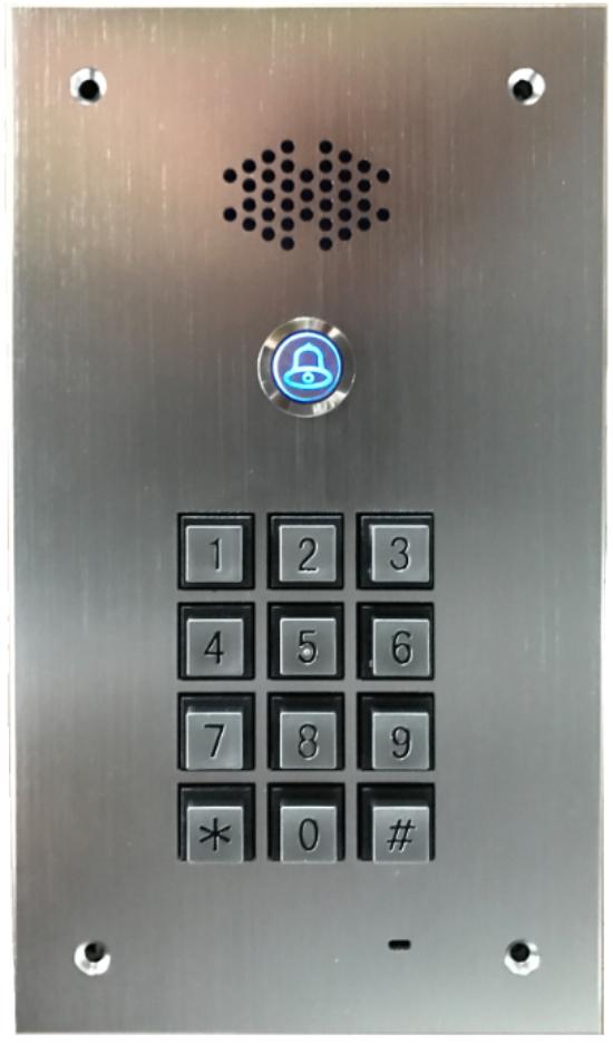 GSM Door Bell with keyboard