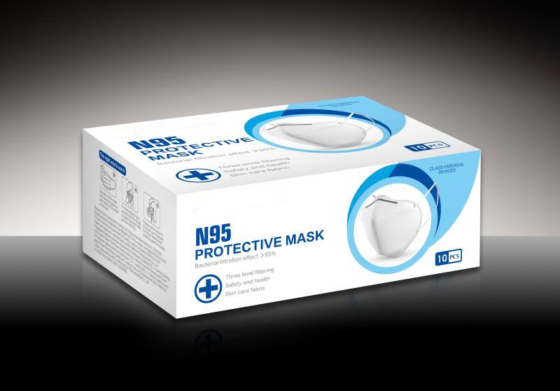 KN95 mask 10 pcs in box
