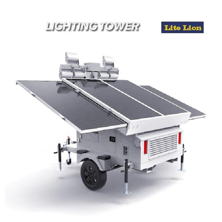 Solar cell lighting