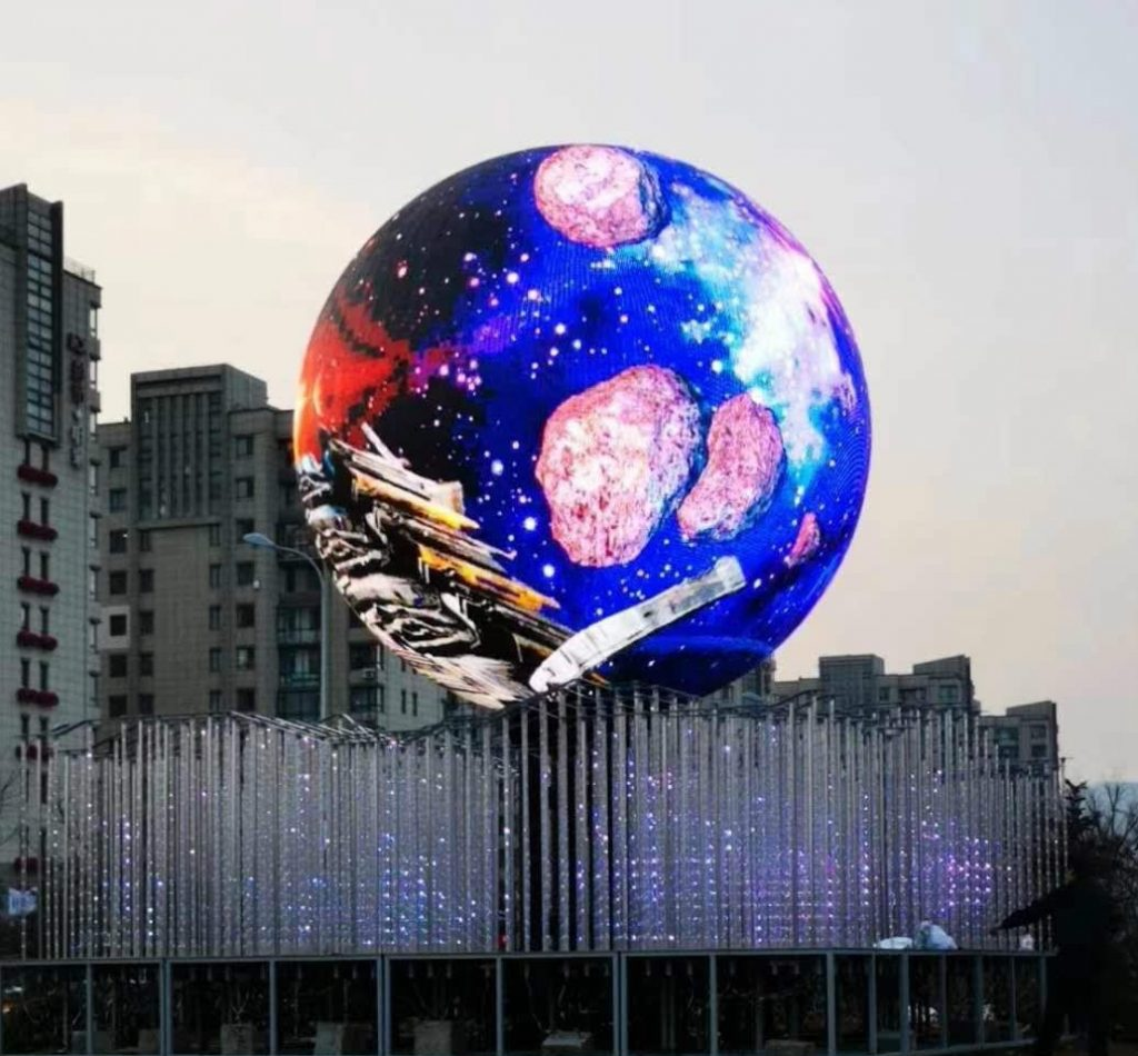 Video screen balls